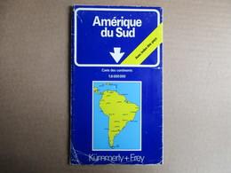 Kümmerly + Frey - Amérique Du Sud - Cartes Routières
