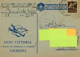 °°°rr Comando Tappa 38 Posta Militare23 °°° - 1939-45