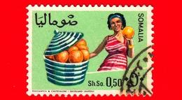 SOMALIA - Usato - 1968 - Agricoltura - Piante (Flora) - Frutta - Pompelmo - 0.50 - Somalia (1960-...)