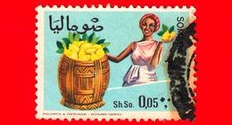 SOMALIA - Usato - 1968 - Agricoltura - Piante (Flora) - Frutta - Linomi - 0.05 - Somalia (1960-...)