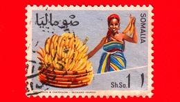 SOMALIA - Usato - 1968 - Agricoltura - Piante (Flora) - Frutta - Banane - 1 - Somalia (1960-...)