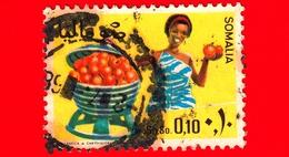 SOMALIA - Usato - 1968 - Agricoltura - Piante (Flora) - Frutta - Arance - 0.10 - Somalia (1960-...)
