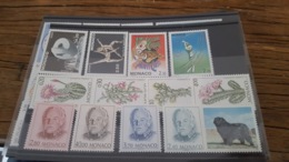 LOT 435755 TIMBRE DE MONACO NEUF**  LUXE FACIALE 10,4 EUROS - Collections, Lots & Séries
