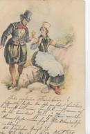 AK 0126  Liebespaar ( Rokoko ) - Künstlerkarte Um 1900 - Paare