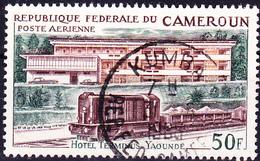 Karemun - Terminus-Hotel In Yaoundé (Mi.Nr.: 470) 1966 - Gest Used Obl - Cameroun (1960-...)