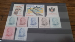 LOT 435796 TIMBRE DE MONACO NEUF** LUXE - Collections, Lots & Séries