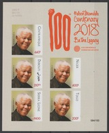 IMPERF ND Djibouti Central Africa Togo Sierra Leone Niger 2018 PAN African Postal Union Nelson Mandela Madiba 100 Years - Niger (1960-...)