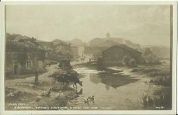 CPA - Salon 1909 - Tableau De A. RENAUDIN - Matinée D'Automne à Ville-sur-Iron (Lorraine). - Autres Communes