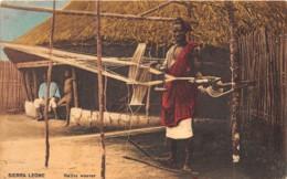 Sierra Leone - Ethnic / 02 - Native Weaver - Sierra Leone