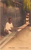 Sierra Leone - Ethnic / 07 - A Fine Sample Of Weaving - Sierra Leone