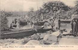 Sierra Leone - Ethnic / 11 - Landing Wharf - Port Lokkoh - Sierra Leone