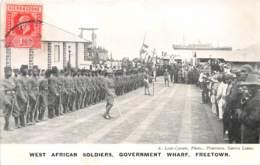 Sierra Leone - Other / 19 - West African Soldiers - Freetown - Sierra Leone