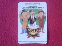 SPAIN. CALENDARIO DE BOLSILLO CALENDAR 1989 LOS HERMANOS MARX SOPA DE GANSO BROTHERS Duck Soup CARICATURAS CARTOON CINE - Calendarios