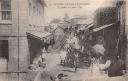 Sierra Leone - Other / 35 - A Street At Saw Pitt - Freetown - Sierra Leone