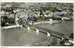 33. CADILLAC . Le Pont Et Les Bords De La Garonne . - Cadillac