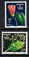 TOGO 276/277* 15f Flore - Togo (1960-...)