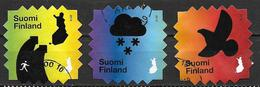 Finlande 2018 N° 2562/2564 Oblitérés écologie - Finlande