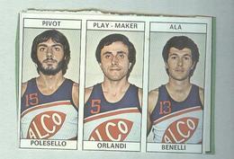 POLESELLO,ORLANDI,BENELLI,..TEAM ALCO...PALLACANESTRO....VOLLEY BALL...BASKET EDIS - Trading Cards