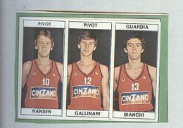 HANSEN,GALLINARI,BIANCHI....TEAM CINZANO...PALLACANESTRO....VOLLEY BALL...BASKET EDIS - Trading Cards