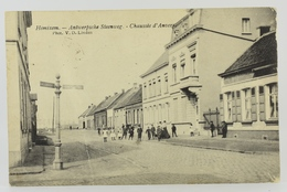 Postkaart Hemiksem - Hemixem Antwerpsche Steenweg 1908 - Hemiksem