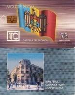TARJETA TELEFONICA DE MOLDAVIA. 04.99 TIRADA 30000 (007) - Moldova