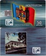 TARJETA TELEFONICA DE MOLDAVIA. 09.95 TIRADA 30000 (008) - Moldova