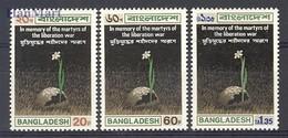 Bangladesh 1973 Mi 19-21 MNH ( ZS8 BNG19-21 ) - Bangladesh