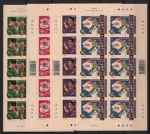 Singapore - 2000 - N°Yv. 974 à 977 - Fêtes - Adhesive Sheetlets - Neuf Luxe ** / MNH / Postfrisch - Singapour (1959-...)