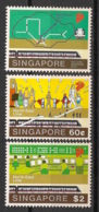 Singapore - 2003 -n°Yv. 1181 à 1183 - Train - Neuf Luxe ** / MNH / Postfrisch - Singapour (1959-...)