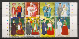 Singapore - 2007 -n°Yv. 1526 à 1533 - Costumes - Neuf Luxe ** / MNH / Postfrisch - Singapour (1959-...)
