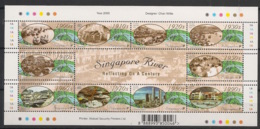 Singapore - 2000 -n°Yv. 952 à 961 - Fleuve - Neuf Luxe ** / MNH / Postfrisch - Singapour (1959-...)