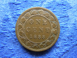 CANADA 1 CENT 1888, KM7 - Canada