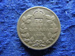 CANADA 10 CENTS 1918, KM23 - Canada
