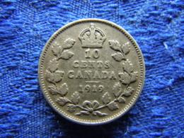 CANADA 10 CENTS 1919, KM23 - Canada