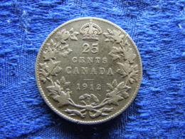 CANADA 25 CENTS 1912, KM24 - Canada