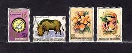 Burundi 1981-86.Y&T Nº   843-858-919-921 - Burundi