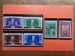 ROMANIA 1934/35 - Expo Bucarest + Rivolta Transilvania Nuovi ** + Spese Postali - 1918-1948 Ferdinand, Carol II. & Mihai I.
