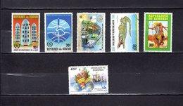 Burundi 1987-92  .Y&T Nº   922-924-934-949-951-967    ( 967  Alta Punta ) - Burundi