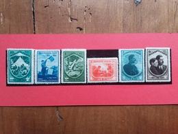 ROMANIA 1932 - Jamboree Nazionale 1932 - Yvert 440/45 Nuovi * + Spese Postali - 1918-1948 Ferdinand, Carol II. & Mihai I.