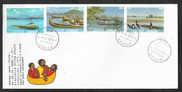 ETHIOPIA F.D.C. FIRST DAY ISSUE 72 ASSAB ETHIOPIAN RIVER BOATS - Etiopia