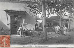 KOLEA - ALGERIE -  COLEA -  INTERIEUR DE L'HOPITAL BELLE ANIMATION 1912 - Other Cities