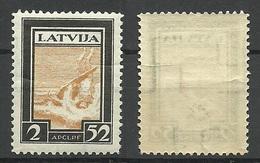 LETTLAND Latvia 1933 Michel 215 A MNH - Lettonie