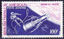 "Kamerun - Raumschiff ""Gemini IV"" Und Raumpilot White (MiNr.: 450) 1966 - Gest Used Obl - Cameroun (1960-...)"