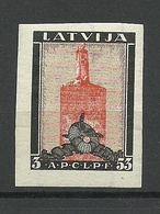 LETTLAND Latvia 1933 Michel 216 B * - Lettonie