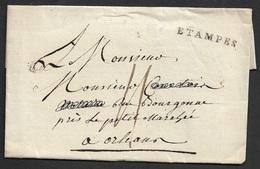 LAC - ETAMPES 31mm X 4mm (Essonnes). Ind. 11 - 1701-1800: Précurseurs XVIII