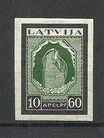 LETTLAND Latvia 1933 Michel 217 B * - Lettonie
