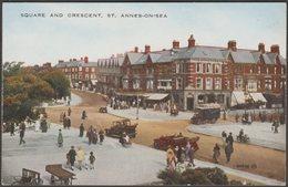 Square And Crescent, St Annes-on-Sea, Lancashire, 1925 - Valentine's Postcard - England