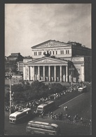 Moscow - The State Academic Bolshoi Theatre Of The USSR - Autobus - Russie