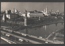 Moscow - View Of The Kremlin - Autobus - Russie
