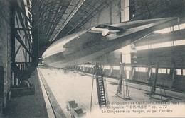 CPA - France - (83) Var - Cuers - Dirigeable Dixmude - Le Dirigeable Au Hangar, Vue Par L'arrière - Cuers